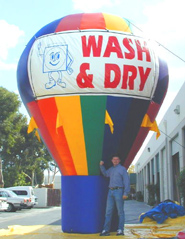 Hot Air Balloon Shaped Advertising Balloons
