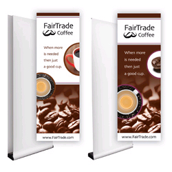 Full Color Printed Banners For Banner Stand