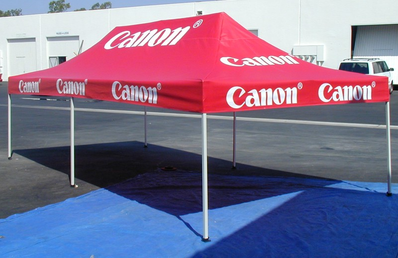 Click on the image for larger Picture & Custom Promotional Tent 10 x 20