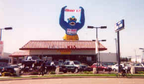 Inflatable Gorillas For Outdoor Promotions