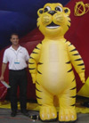 inflatable costumes, inflatable mascots, inflatable product replica